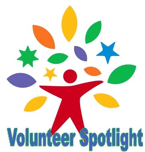 volunteer spotlight red person