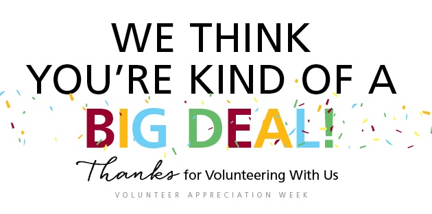 volunteer big deal