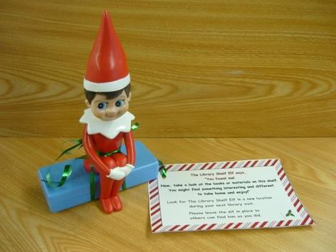 elf on library shelf 2