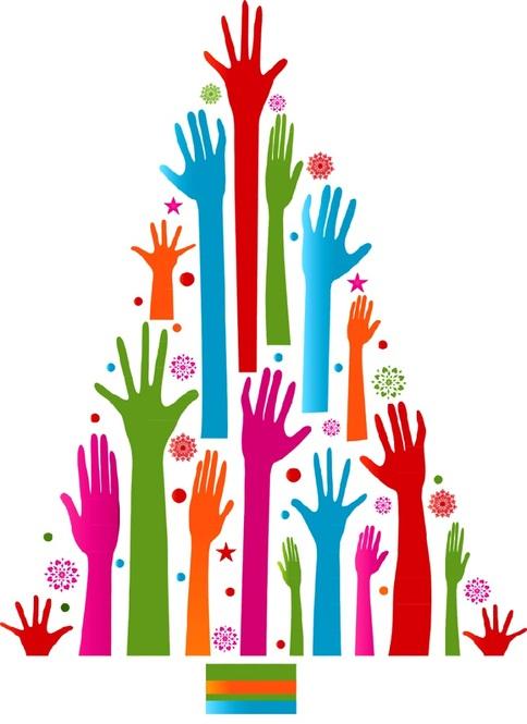 volunteer Christmas tree 5